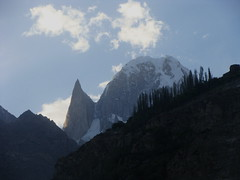 Lady Finger in Hunza-Pakistan (Dr. Shahid-Burewala Trekkerz (praying 4 Snow lake)) Tags: pakistan mountain snow mountains nature high altitude peaks hunza northernareas karimabad gilgit ladyfinger burewala