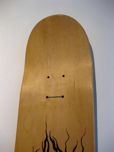Deck face