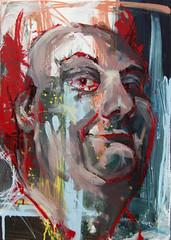 phat phuck (BREakONE) Tags: portrait painting acrylic break fat canvas slovenia breakone