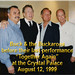 Buck Owens and the Buckaroos in 1999 (Doyle Holly, Willie Cantu, Tom Brumley)