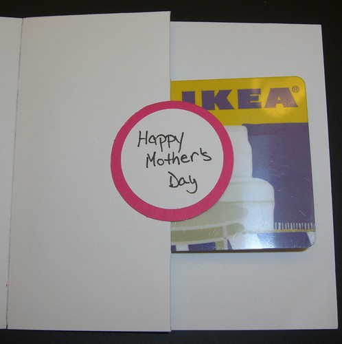 Mother's Day Gift Card (inside)