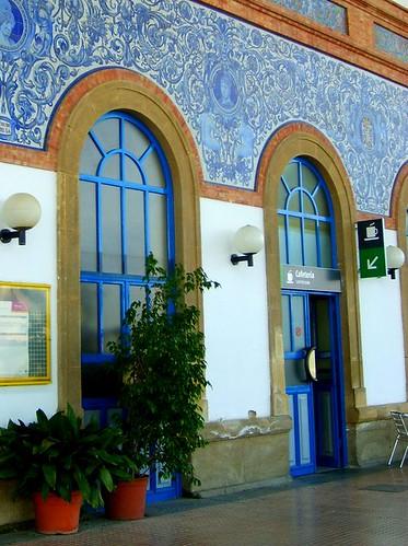 Estación de tren, Jerez