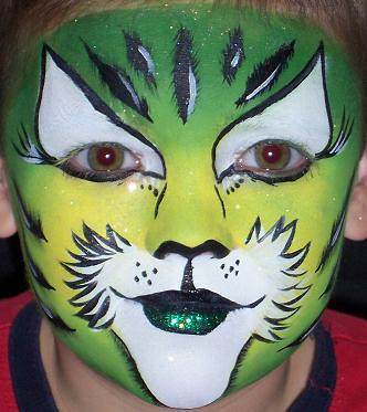 Face Painting Tiger por tammybeeks