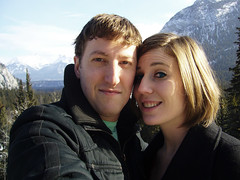 V-Day in Banff (403 drew) Tags: mountains banff banffnationalpark banffspringhotel