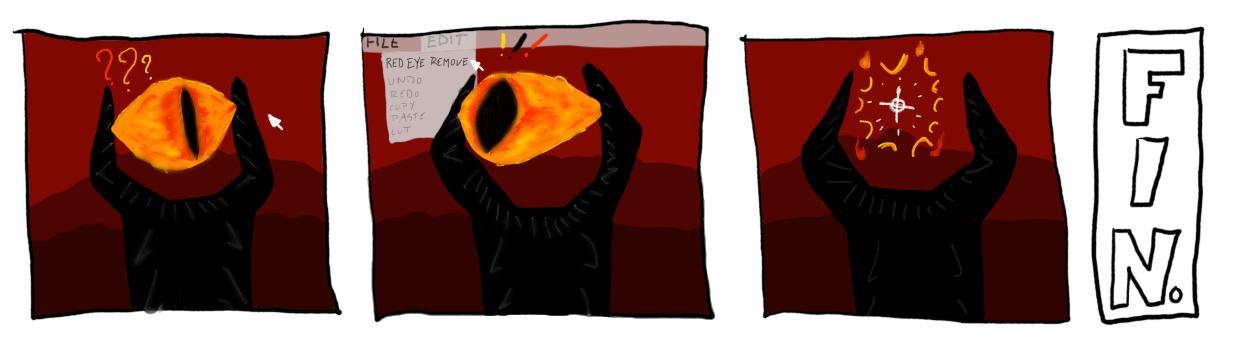 bye bye, sauron!