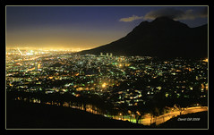 Cape Town By Night 1/3 (david.gill12) Tags: blueribbonwinner