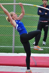 DSC_0364 (MNJSports) Tags: trackfield swarthmorelastchancetrackmeet swarthmore ursinus georgetown delaware rutgers richardstockton ncaa cuc desales messiah lasalle temple stjosephs muehlenburg polevault pole bar height dramatic exciting amazing women girls