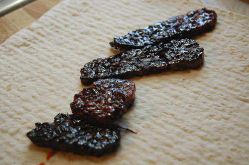 caramelized tempeh