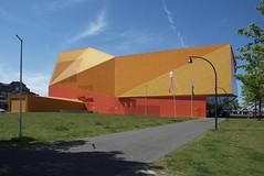 Agora Theatre IV (Bart van Damme) Tags: abstract netherlands architecture square centre architect architects flevoland lelystad facet unstudio benvanberkel agoratheatre bartvandamme bartvandammephotography bartvandammefotografie emailbagtvandammegmailcom
