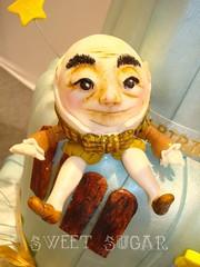 BOLO Humpty Dumpty 1 SWEET SUGAR - BY MICHELLE LANZA (SWEET SUGAR By Michelle Lanza) Tags: cake soleil do sweet michelle du sugar bolo cirque oficial atelier ovo acar lanza
