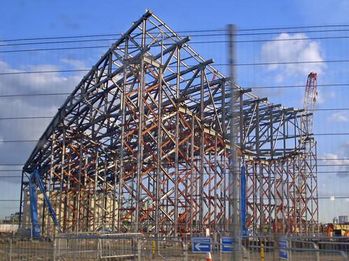 Thumb Construcción del Estadio Olímpico en Londres para los Juegos Olímpicos 2012