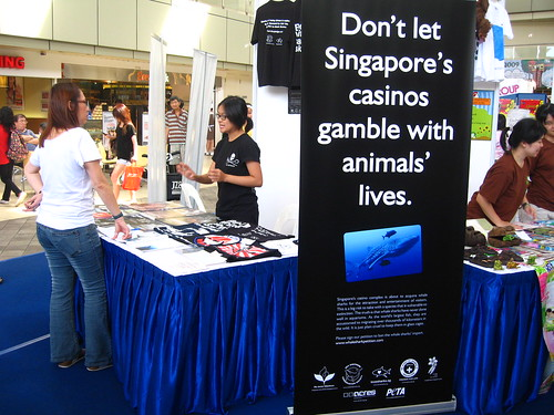 Sea Shepherd booth