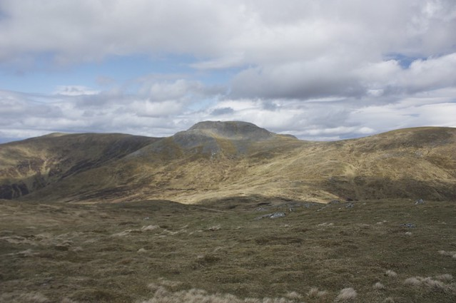Carn Mairg from Meall na Aighean