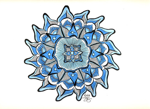 Mandala has got the Blues