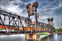 train bridge (lebovox) Tags: bridge wisconsin train zug brcke hdr prescott hdri photomatix tonemapping highway31 lebovox lebovoxphotography