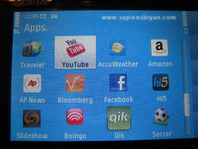 Nokia N97 Applications