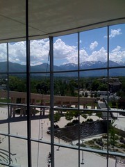 View from SLC Public Library