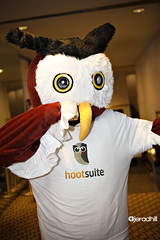 HootSuite mascot, Jerad Hill Studios