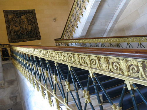 The big stairwell, Greek Parliament Building