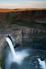 Palouse Falls (Colin Grigson) Tags: canon waterfall washington long exposure falls 5d eastern palouse