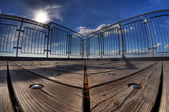 sun & fun (Toni_V) Tags: sky topv111 clouds switzerland europe hiking zurich perspective fisheye zürich uetliberg 2009 soe hdr randonnée d300 105mm photomatix supershot 7exp capturenx toniv platinumphoto theperfectphotographer 090601