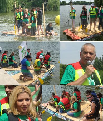 Cursa Recycle Raft Race