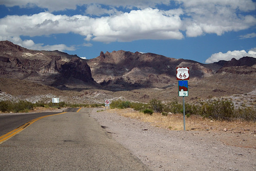 Historic Route 66, a Scenic Byway