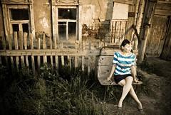 I know you were here (AgusValenz) Tags: woman girl mujer chica centralasia kazakhstan eurasia kazajistan