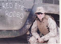 Brian Dawson in Iraq