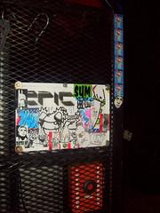 one night only (?JABZ?) Tags: street art graffiti stickerart 666 nobody 66 graff tallahassee mrs epic rwk inc duh vagrant biafra bts combos boost crs robotswillkill jabs ffsc pkmn egu jabz ceito mrswitch luckone flfortwaltonbeachfloridajabzjabzzjabsstreetartstickerartcombosxxxedge666tacos