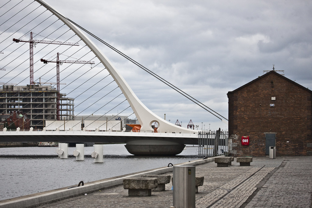 The Samuel Beckett Bridge, Dublin