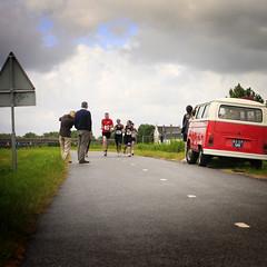 Martin eindsprint (Obiw) Tags: training dam nederland running run kanaal brug tot rood 2009 hardlopen noordholland fietspad kwadijk purmerend kanaaldijk noordhollands nr6 bijman purmereend