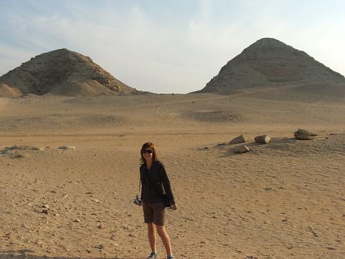 perdida en el desierto