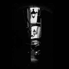 L'Oscuro (ßッ) Tags: dark alley alatri ciociaria intheshadowutata vicolooscuro utata:project=justblack
