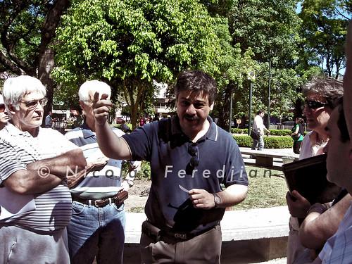 """Sergio Abrevaya (imagen): """"Macri ejecuta una obra y pasa por encima de la gente"""" (mas fotos en comentarios)"""
