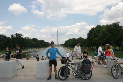 In front of the National Mall, Washington, D.C.