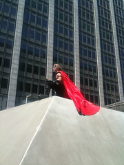 Caped Superhero