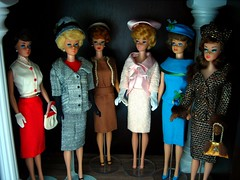The Ladies who Lunch (Addicted2Cuteness) Tags: fashion cut barbie queen 1600 bubble mattel midge