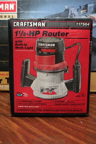 Craftsman 1 1-2-HP Router 917504
