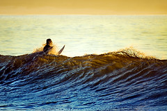 punch (laatideon) Tags: sea sunrise dawn surf surfer wave etcetc laatideon deonlategan