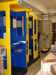 Museum für Kommunikation - Depot Heusenstamm - Btx 01 (KlausNahr) Tags: museum post frankfurt mfk museumfürkommunikation btx telekommunikation heusenstamm bildschirmtext depotheusenstamm