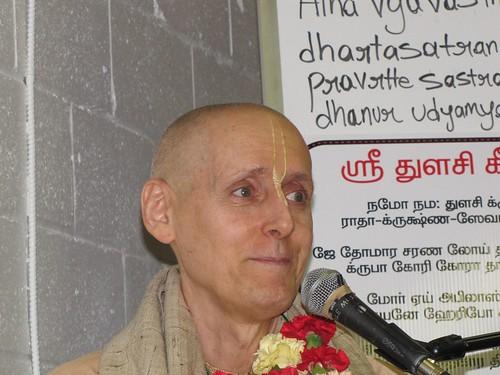 Sankarsana Prabhu visit ISKCON Scarborough -0022 por ISKCON desire  tree.