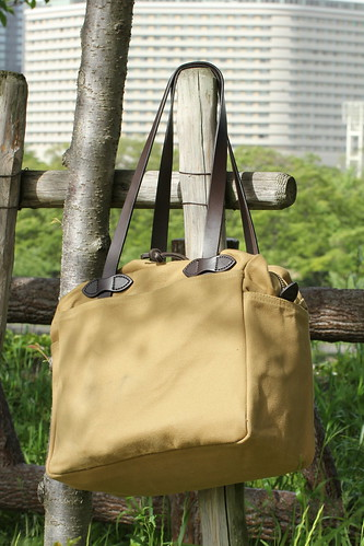 FILSON Tote with Zipper by fortalitia54