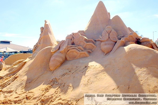 Annual Sand Sculpting Australia exhibition, Frankston waterfront-10