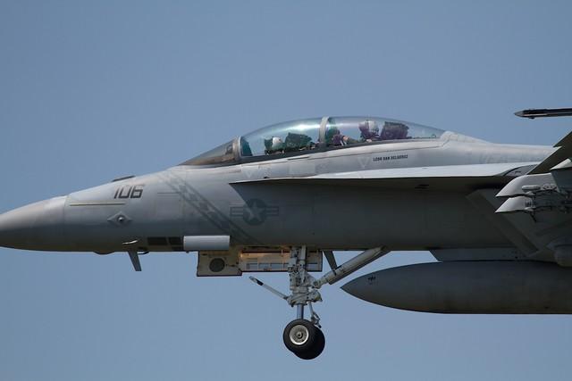 U.S.NAVY F-18F Super Hornet