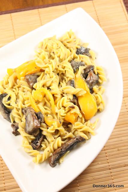 Day 139 - Creamy Mushroom Pasta