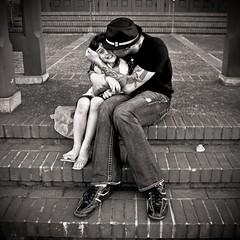 organic (pimpdisclosure) Tags: bw white black love daddy kiss daughter fedora pimp pimpette minipimp pimpexposure pimpdisclosure pimppimppimppimppimp ilovehowherlittlefootisbentup mybracescomeoffjune7thholla yesijustsaidhollaeventhoughthatphrasehasntbeencoolsincemiddleagepostmenopausewomenstartedtofinditokaytosayyougogirl howradismynewicon