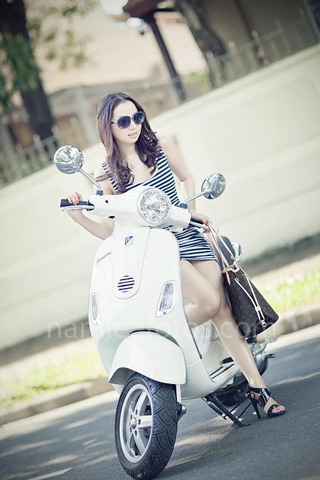 album hình chân dung ngoại cảnh - model Laura Lai