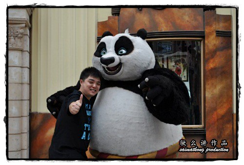 Saimatkong vs KungFu Panda @ Universal Studios Singapore!