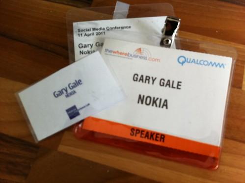 Recent Conference Badges